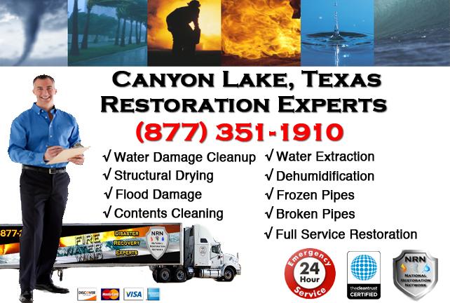 Canyon Lake Water Damage Restoration