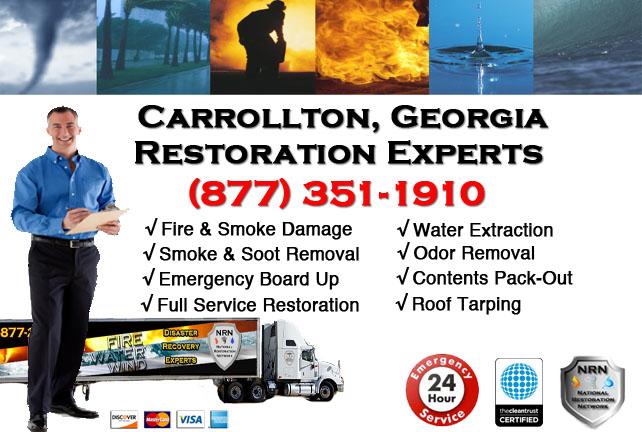 Carrollton Fire Damage Cleanup Contractor
