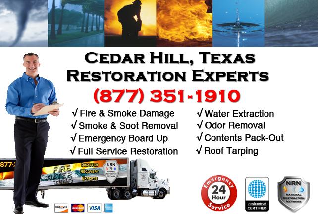 Cedar Hill Fire Damage Restoration Contractor