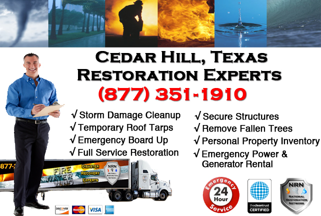 Cedar Hill Storm Damage Cleanup