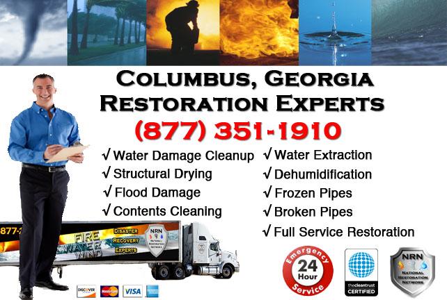 Columbus Water Damage Restoration