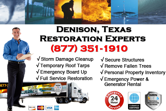 Denison Storm Damage Cleanup
