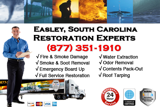 Easley Fire Damage Restoration Contractor