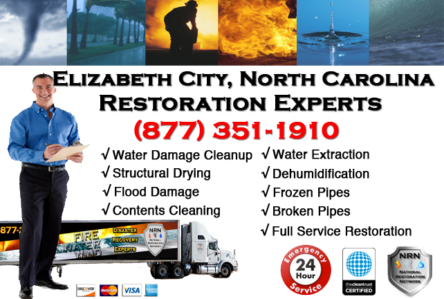 Elizabeth City Water Damage Restoration