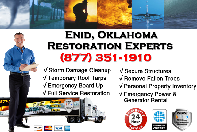 Enid Storm Damage Cleanup