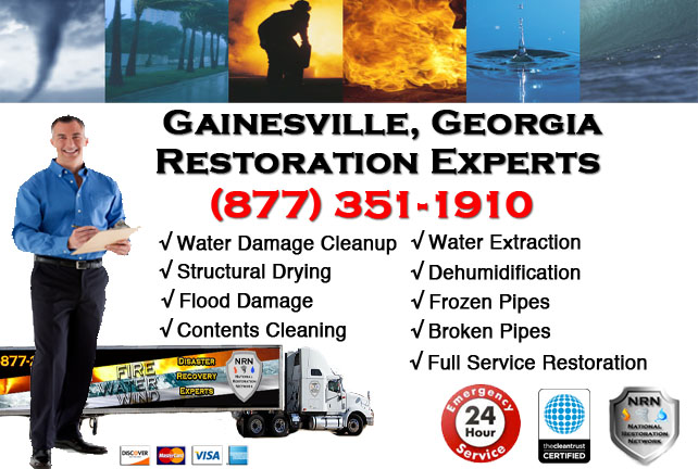 Gainesville Water Damage Restoration