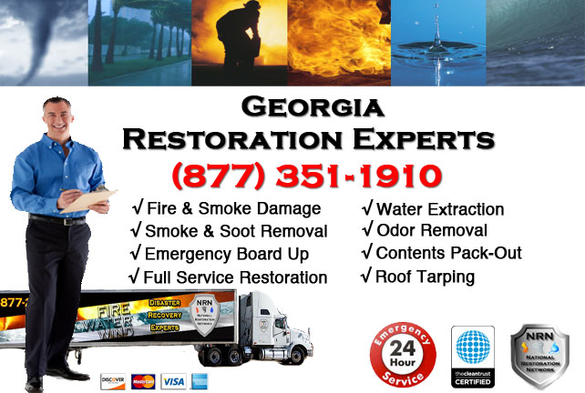 Georgia Fire Damage Cleanup Contractor