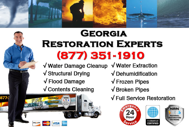 Georgia Water Damage Restoration