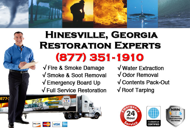 Hinesville Fire Damage Cleanup Contractor