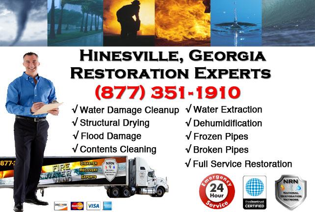 Hinesville Water Damage Restoration