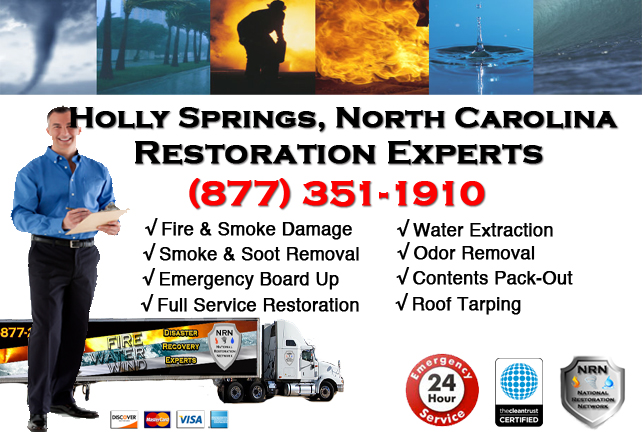 Holly Springs Fire Damage Restoration Contractor