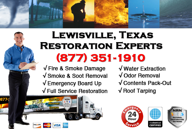 Lewisville Fire Damage Restoration Contractor