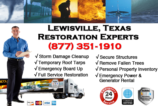 Lewisville Storm Damage Cleanup