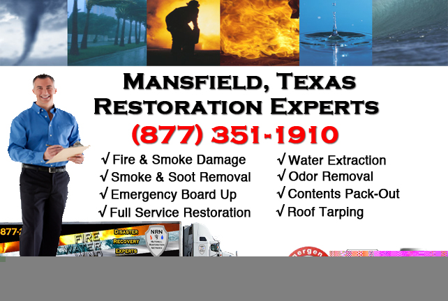 Mansfield Fire Damage Restoration Contractor