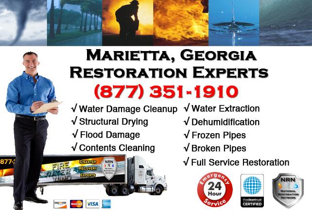 Marietta Water Damage Restoration