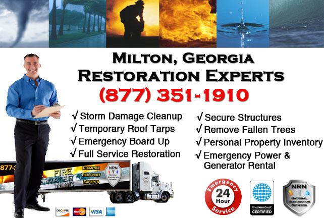 Milton Storm Damage Cleanup