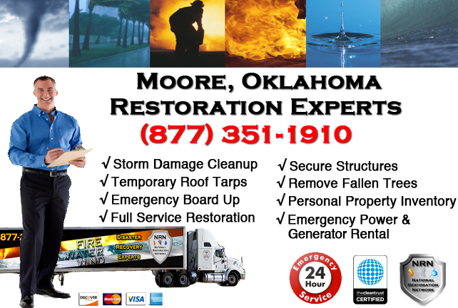 Moore Storm Damage Cleanup