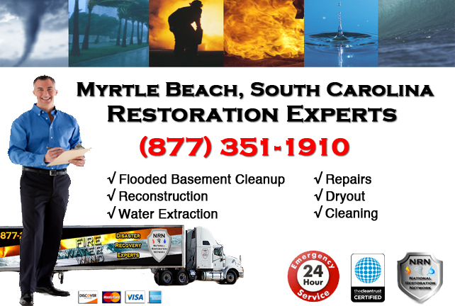 Myrtle Beach Flooded Basement Cleanup