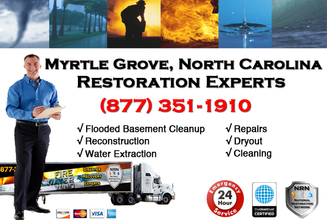 Myrtle Grove Flooded Basement Cleanup