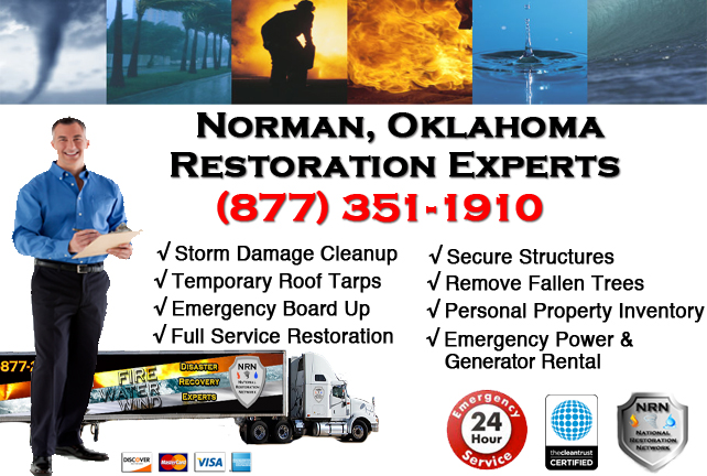 Norman Storm Damage Cleanup