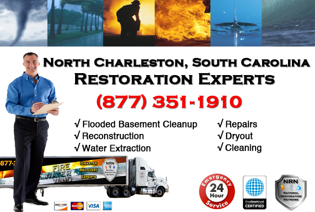 North Charleston Flooded Basement Cleanup