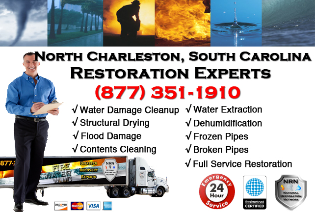 North Charleston Water Damage Restoration