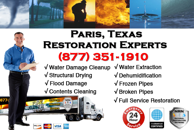 Paris Water Damage Restoration