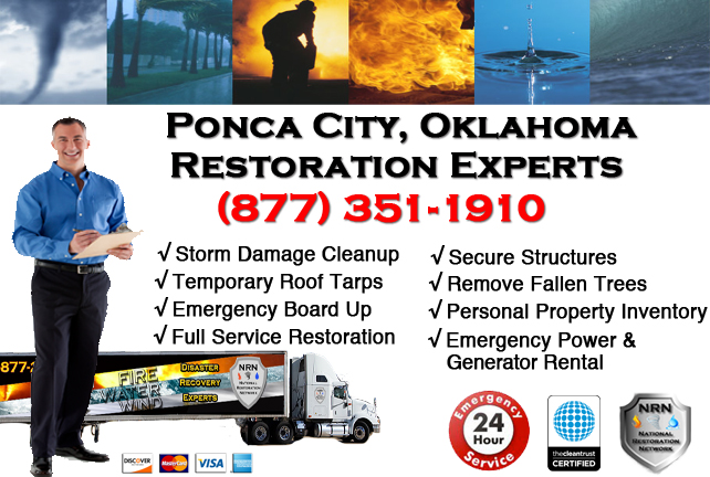 Ponca City Storm Damage Cleanup