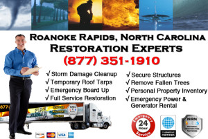 Roanoke Rapids Storm Damage Cleanup