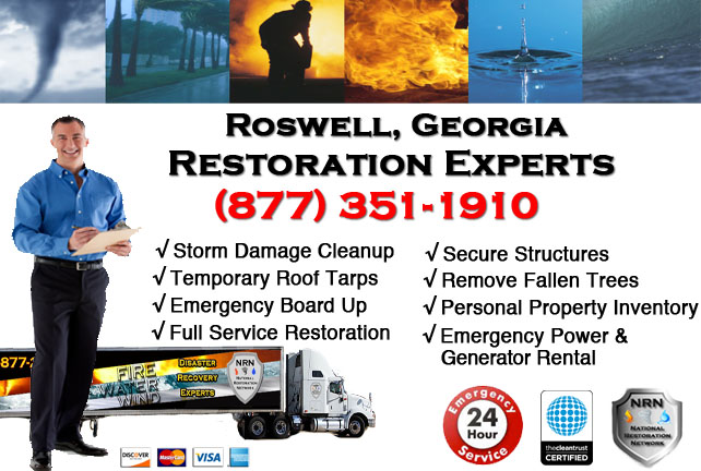 Roswell Storm Damage Cleanup
