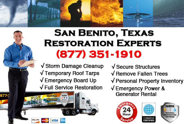 San Benito Storm Damage Cleanup