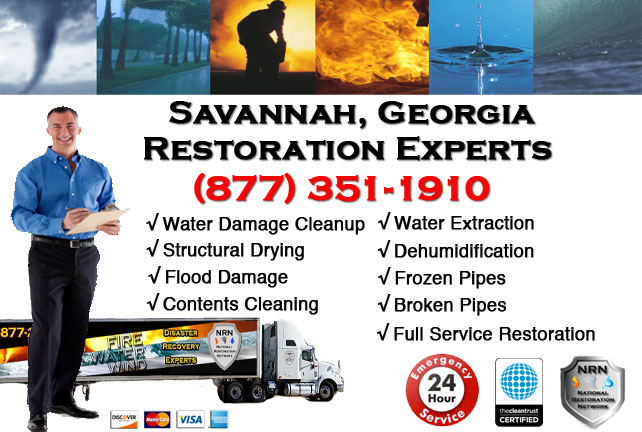 Savannah Water Damage Restoration