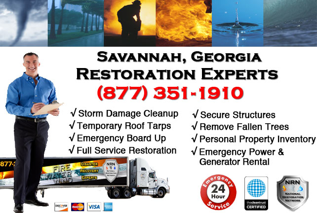 Savannah Storm Damage Cleanup