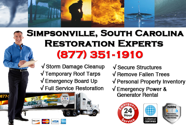 Simpsonville Storm Damage Cleanup