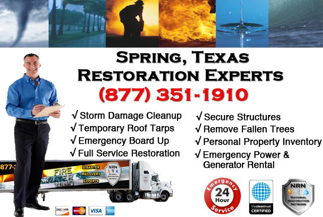 Spring Storm Damage Cleanup