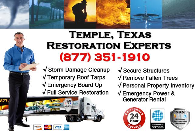 Temple Storm Damage Cleanup