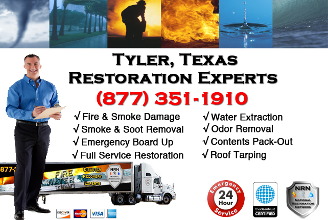 Tyler Fire Damage Restoration Contractor