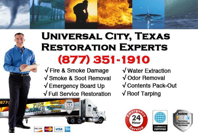 Universal City Fire Damage Restoration Contractor