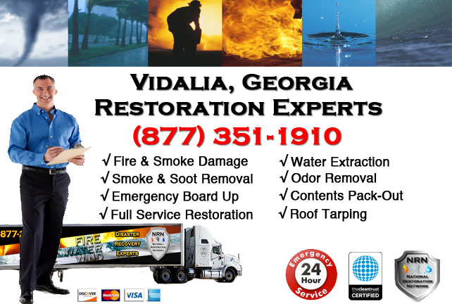 Vidalia Fire Damage Cleanup Contractor