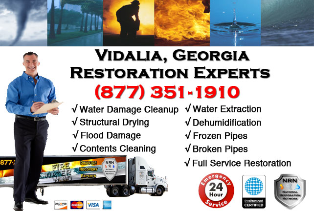Vidalia Water Damage Restoration