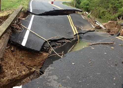 washed out road in tenn from wsmv.com