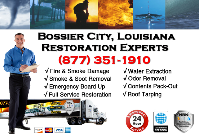 Bossier City Fire Damage Restoration Contractor