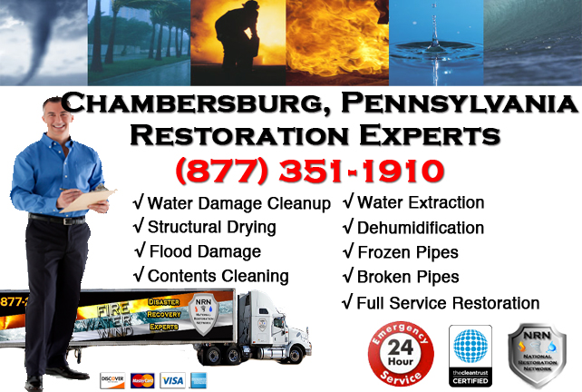 Chambersburg Water Damage Restoration