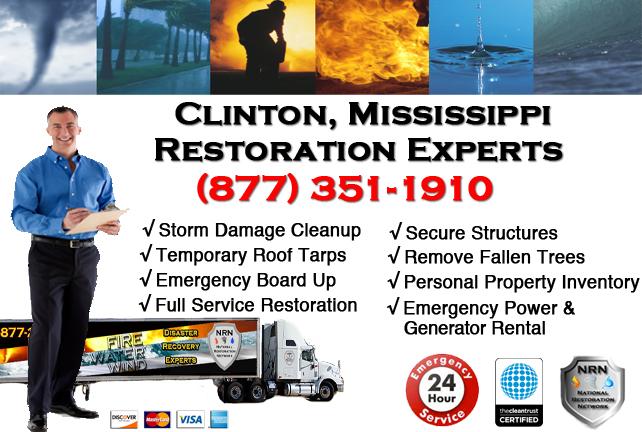 Clinton Storm Damage Cleanup