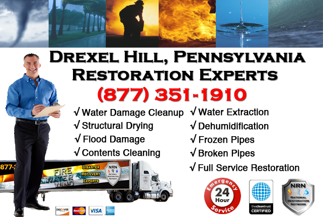 Drexel Hill Water Damage Restoration