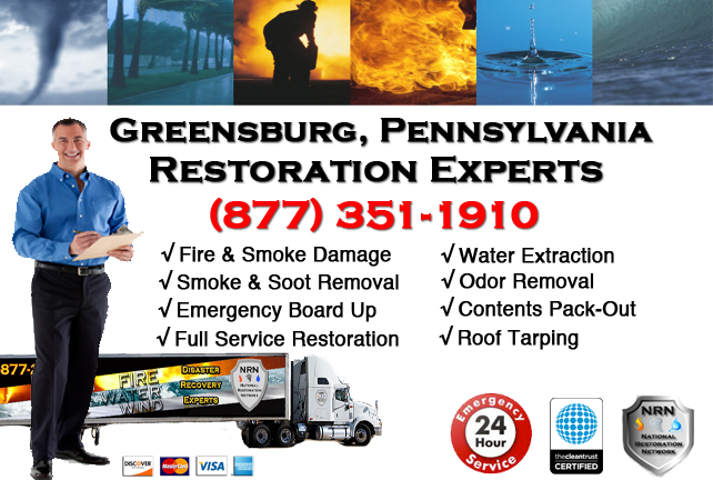 Greensburg Fire and Smoke Damage Repairs