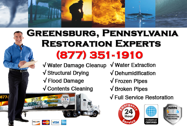 Greensburg Water Damage Restoration
