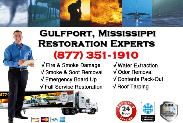 Gulfport Fire Damage Restoration Contractor
