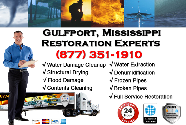Gulfport Water Damage Restoration