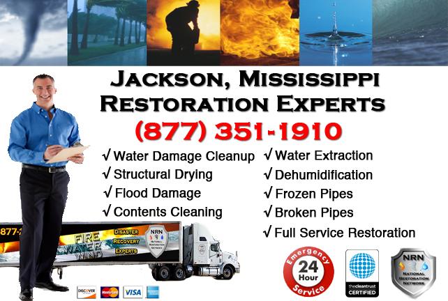 Jackson Water Damage Restoration